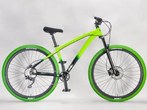 Lucky 6 STB-R Green Large - Complete Wheelie Bike